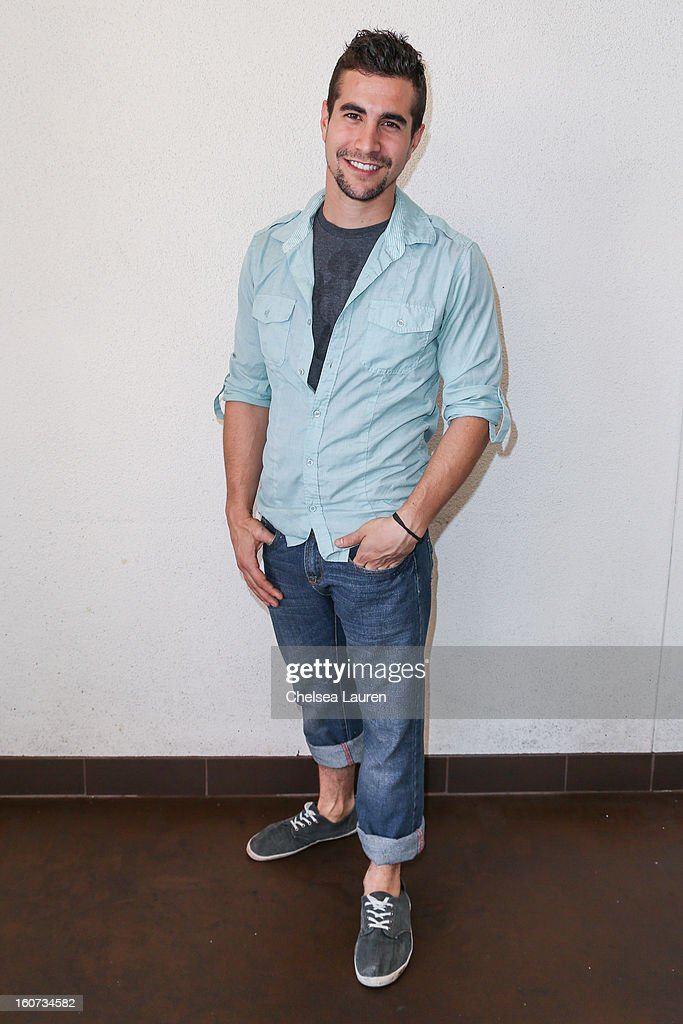 Actor Danny Lopes attends anti-human trafficking family charity luncheon in support of Unlikely Heroes at Veggie Grill on February 4, 2013 in Los Angeles, California.