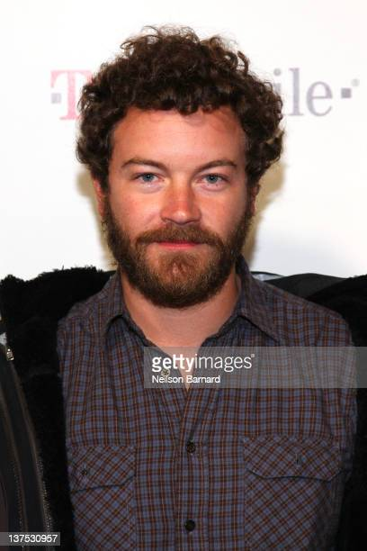 Actor Danny Masterson aka DJ Mom Jeans attends the TMobile Presents Google Music at TAO a nightlife event at the 2012 Sundance Film Festival on...