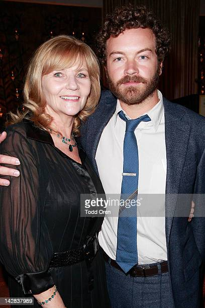 Actor Danny Masterson and Carol Masterson pose during an evening benefiting The New York Rescue Workers and Gulf Coast Detoxification Projects at Fig...