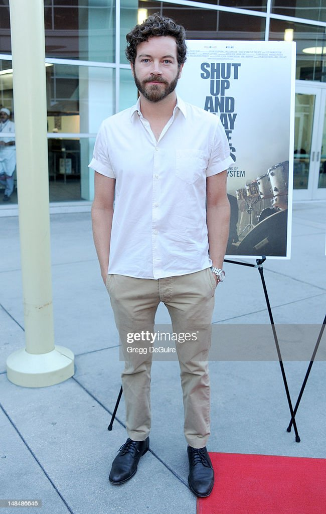 Actor Danny Masterson arrives at the Los Angeles premiere of 'Shut Up And Play The Hits' at ArcLight Hollywood on July 17, 2012 in Hollywood, California.