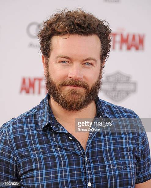 Actor Danny Masterson arrives at the premiere of Marvel Studios AntMan at Dolby Theatre on June 29 2015 in Hollywood California