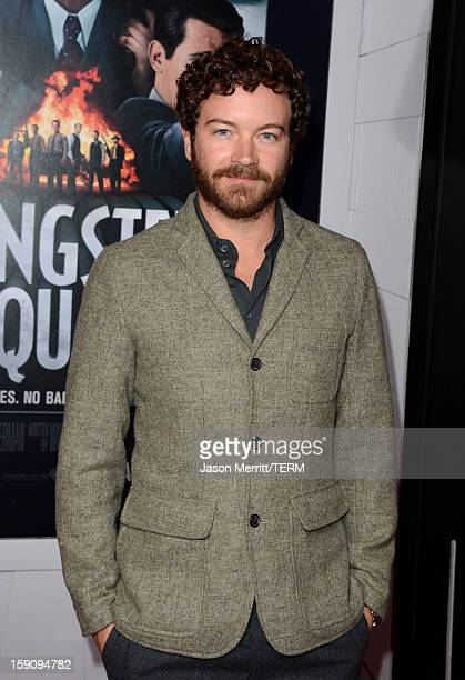 Actor Danny Masterson arrives at Warner Bros Pictures' Gangster Squad premiere at Grauman's Chinese Theatre on January 7 2013 in Hollywood California