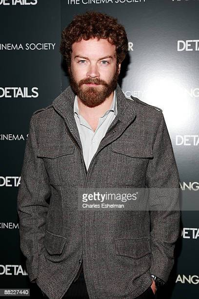 Actor Danny Masterson attends a screening of The Hangover hosted by the Cinema Society and Details at the Tribeca Grand Screening Room on June 4 2009...