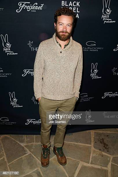 Actor Danny Masterson attends Black Label Media hosted party for The Art of Elysium and Elysium Industry with guest host James Franco on January 24...