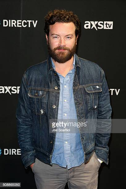 Actor Danny Masterson attends DirecTV Super Saturday Night Cohosted by Mark Cuban's AXS TV at Pier 70 on February 6 2016 in San Francisco California