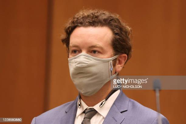 Actor Danny Masterson is arraigned on three rape charges in separate incidents in 2001 and 2003 at Los Angeles Superior Court Los Angeles California...