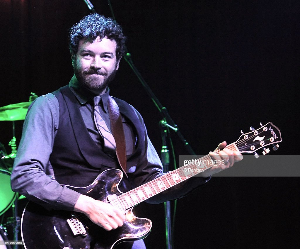 Actor Danny Masterson performs during the San Francisco PETTY FEST at The Fillmore on February 27, 2013 in San Francisco, California.