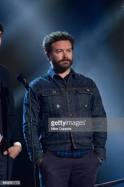 Actor Danny Masterson presents an award onstage during the 2017 CMT Music Awards at the Music City Center on June 6 2017 in Nashville Tennessee