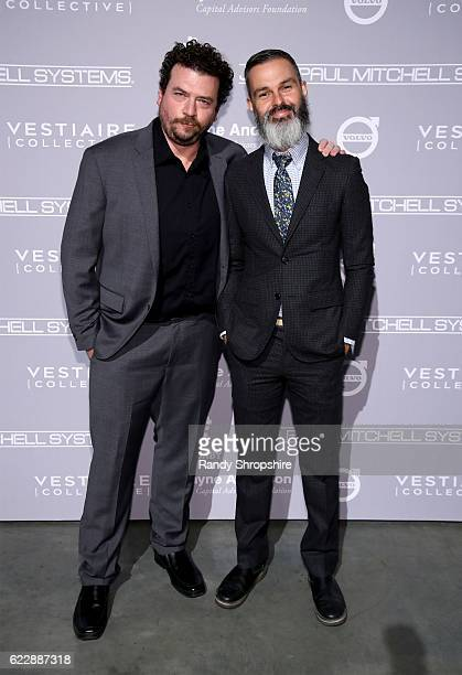 Actor Danny McBride and screenwriter Marc Silverstein attend the Fifth Annual Baby2Baby Gala Presented By John Paul Mitchell Systems at 3LABS on...