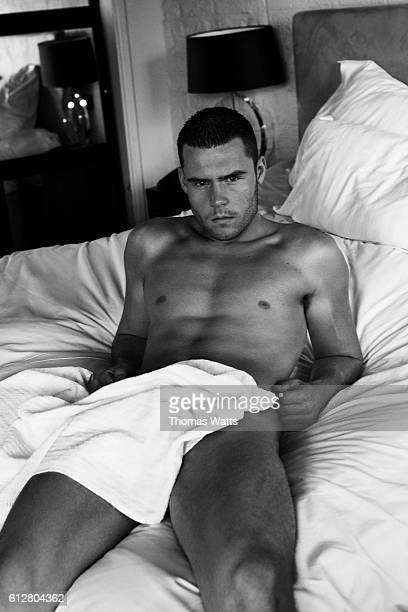 Actor Danny Miller is photographed for Cosmopolitan magazine on March 22 2010 in London England