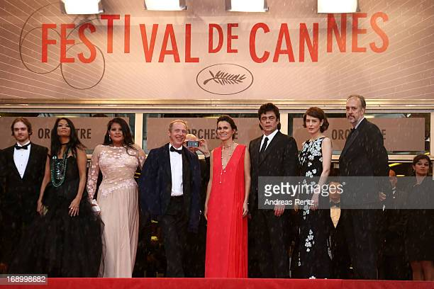 Actor Danny Mooney actress Michelle Thrush actress Misty Upham Director Arnaud Desplechin French Culture minister Aurelie Filippetti actor Benicio...