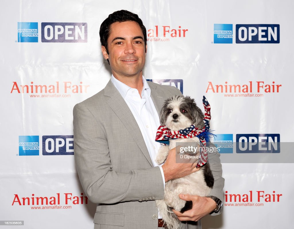 Actor Danny Pino attends the 'Animalfair.com's Bark Business Tour Benefiting K9s For Warriors at the Omni Berkshire Place Hotel on September 30, 2013 in New York City.