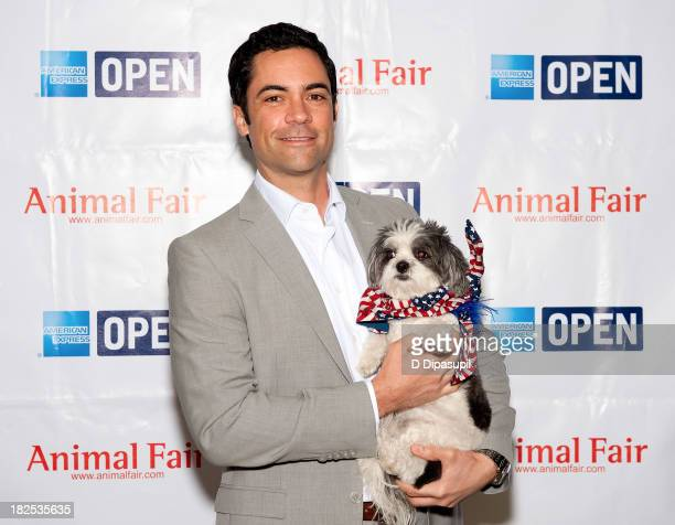 Actor Danny Pino attends the 'Animalfaircom's Bark Business Tour Benefiting K9s For Warriors at the Omni Berkshire Place Hotel on September 30 2013...