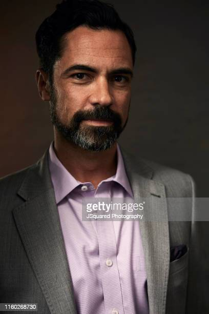 Actor Danny Pino of FX's 'Mayans MC' poses for a portrait during the 2019 Summer TCA Portrait Studio at The Beverly Hilton Hotel on August 06 2019 in...