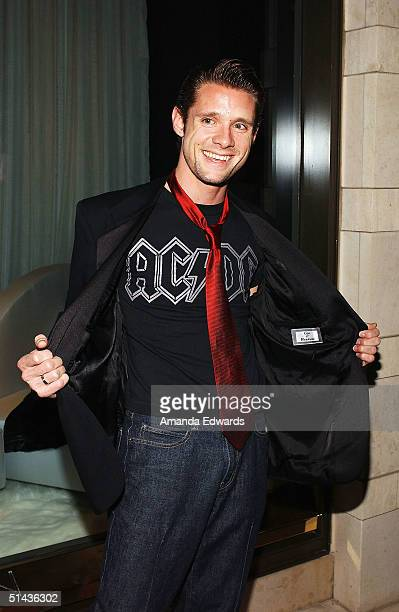 Actor Danny Pintauro arrives at Louis Vuitton's renovated Rodeo Drive store reopening party on October 6 2004 at Louis Vuitton in Beverly Hills...