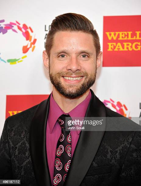 Actor Danny Pintauro arrives at the Los Angeles LGBT Center 46th Anniversary Gala Vanguard Awards at the Hyatt Regency Century Plaza on November 7...