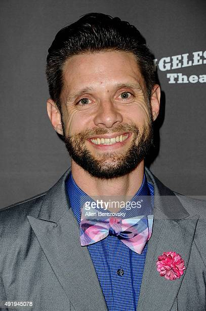 Actor Danny Pintauro attends the Carrie The Killer Musical Experience opening night red carpet at Los Angeles Theatre on October 8 2015 in Los...