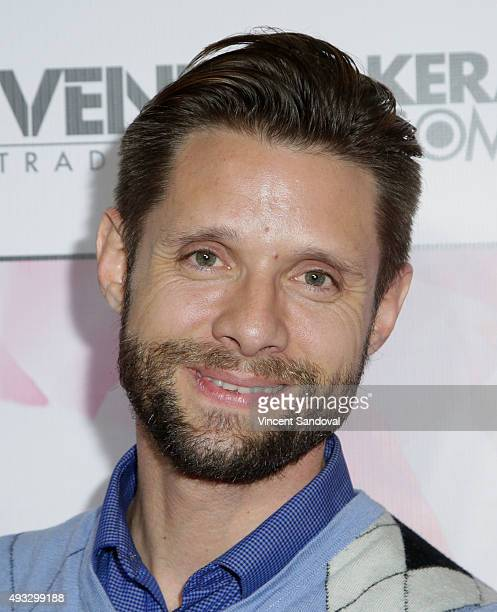 Actor Danny Pintauro attends the Marco Marco Spring/Summer 2016 Collection 4 at The Reef on October 18 2015 in Los Angeles California