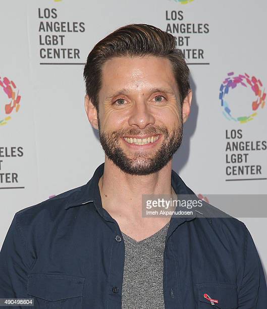 Actor Danny Pintauro attends the premiere party for Fuse's 'Transcendent' at The Village at Ed Gould Plaza on September 28 2015 in Los Angeles...