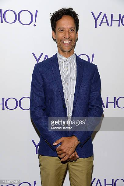 Actor Danny Pudi attends the LA Times Envelope Emmy event for Community on Yahoo Screen at ArcLight Sherman Oaks on June 2 2015 in Sherman Oaks...