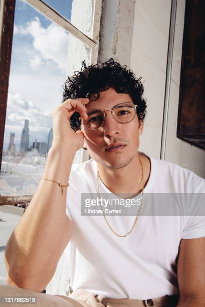 Actor Danny Ramirez is photographed on March 11, 2021 in Los Angeles, California. PUBLISHED IN THE HOLLYWOOD REPORTER.