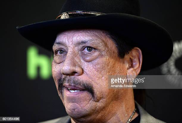 Actor Danny Trejo arrives at The Paley Center for Media's PaleyFest 2016 Fall TV Preview of El Rey at The Paley Center for Media on September 9 2016...