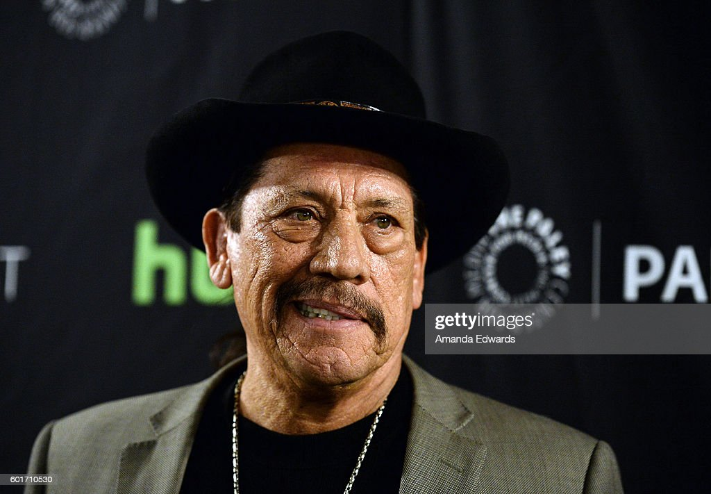 Actor Danny Trejo arrives at The Paley Center for Media's PaleyFest 2016 Fall TV Preview of El Rey at The Paley Center for Media on September 9, 2016 in Beverly Hills, California.