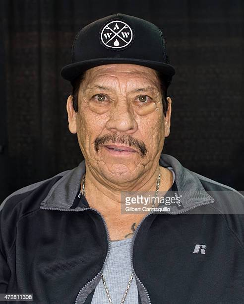 Actor Danny Trejo attends day 3 of Wizard World Comic Con at Pennsylvania Convention Center on May 9 2015 in Philadelphia Pennsylvania