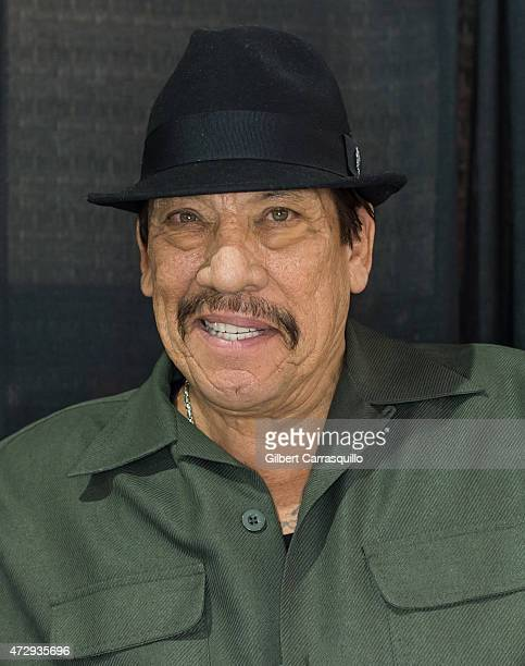 Actor Danny Trejo attends day 4 of Wizard World Comic Con at Pennsylvania Convention Center on May 10 2015 in Philadelphia Pennsylvania