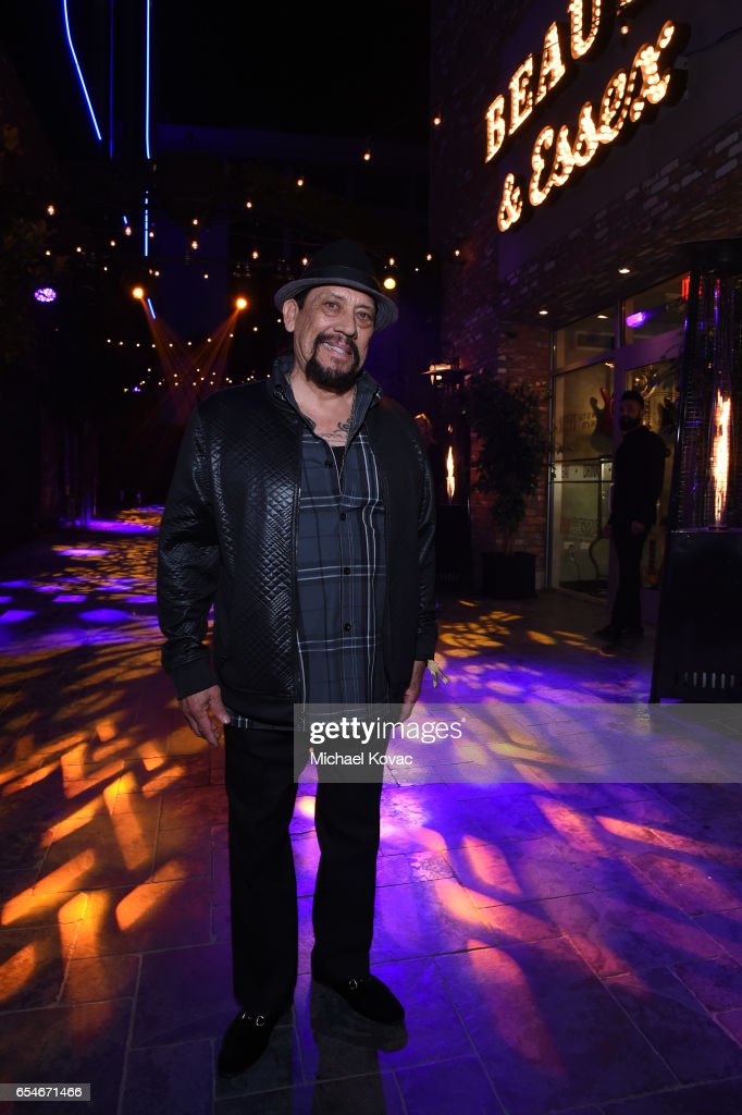 Actor Danny Trejo attends day two of TAO, Beauty & Essex, Avenue and Luchini LA Grand Opening on March 17, 2017 in Los Angeles, California.