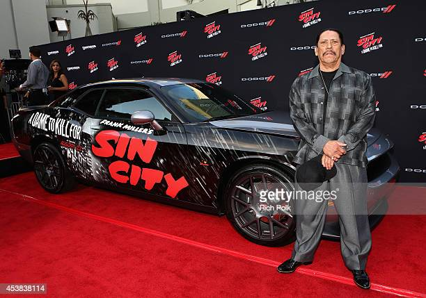 Actor Danny Trejo attends 'SIN CITY A DAME TO KILL FOR' premiere presented by Dimension Films in partnership with Time Warner Cable Dodge and DeLeon...