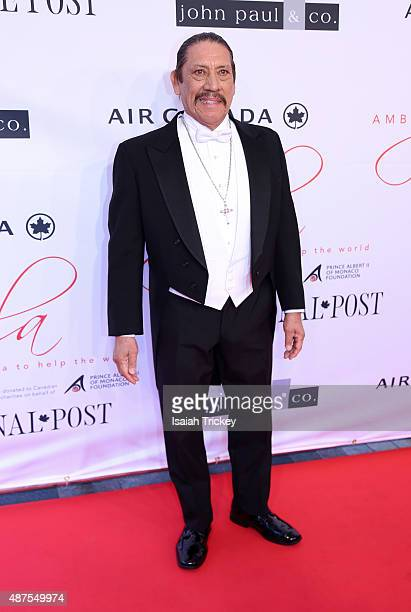 Actor Danny Trejo attends the 2015 Toronto International Film Festival 'AMBI Gala' at the Four Seasons Hotel on September 9 2015 in Toronto Canada