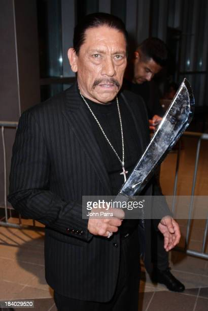 Actor Danny Trejo attends the 'Machete Kills' Miami red carpet premiere at Regal South Beach on October 10 2013 in Miami Florida