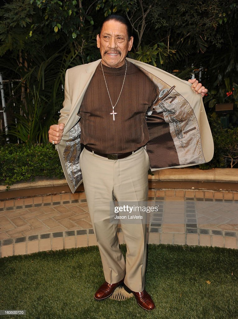 Actor Danny Trejo attends the 'Machete Kills' press conference at Four Seasons Hotel Los Angeles at Beverly Hills on October 6, 2013 in Beverly Hills, California.