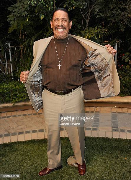 Actor Danny Trejo attends the 'Machete Kills' press conference at Four Seasons Hotel Los Angeles at Beverly Hills on October 6 2013 in Beverly Hills...