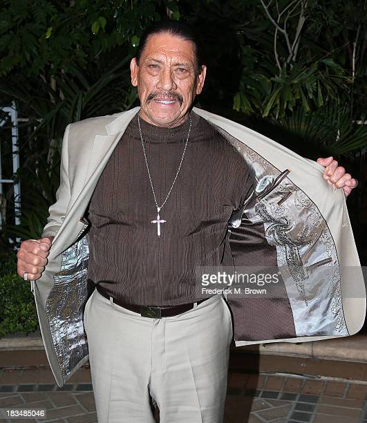 Actor Danny Trejo attends the Open Road Films' 'Machete Kills' Press Conference at the Four Seasons Hotel Los Angeles at Beverly Hills on October 6...