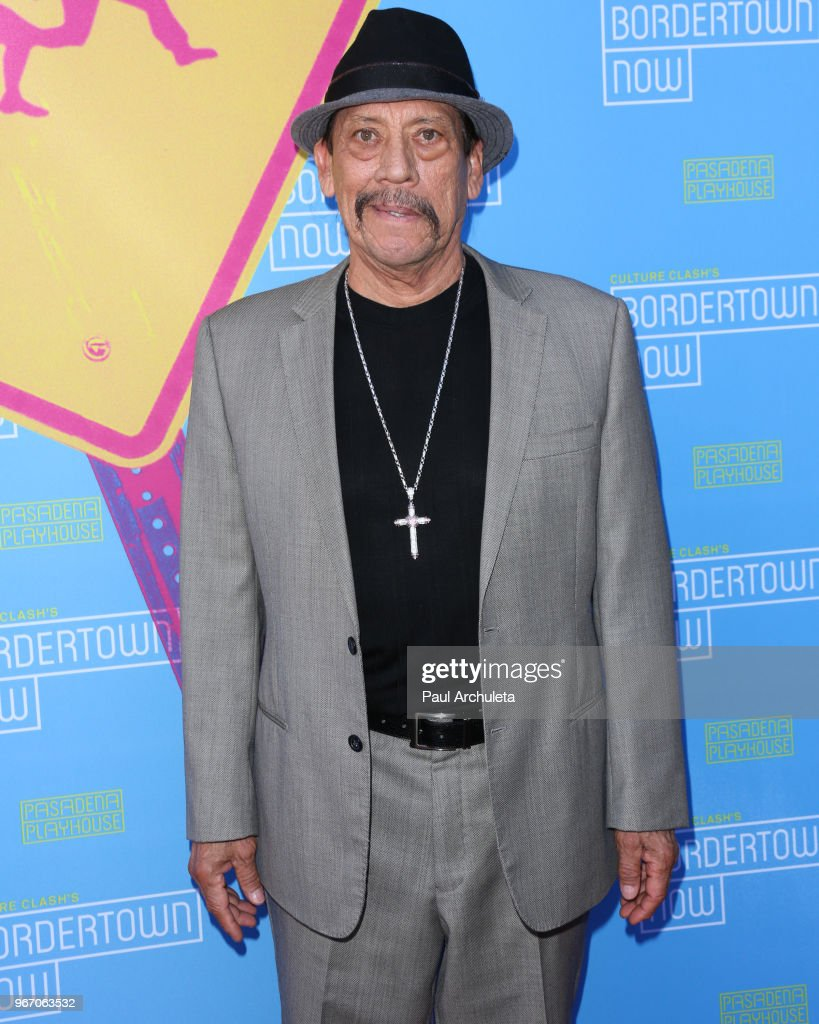 Actor Danny Trejo attends the opening night performance of 'Bordertown Now' at the Pasadena Playhouse on June 3, 2018 in Pasadena, California.