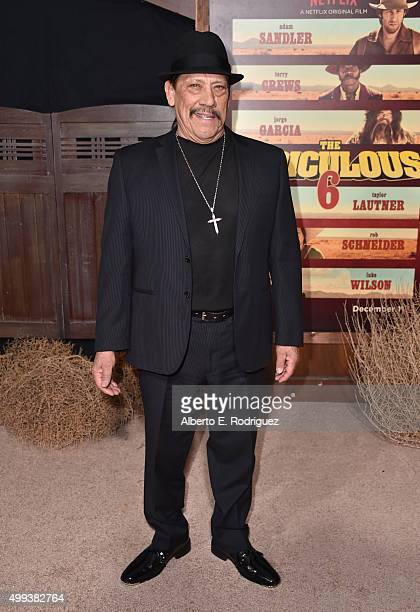 Actor Danny Trejo attends the premiere of Netflix's 'The Ridiculous 6' at AMC Universal City Walk on November 30 2015 in Universal City California