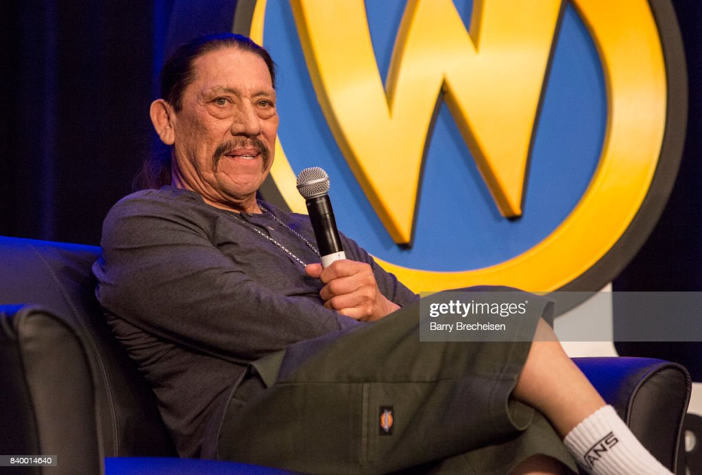 Actor Danny Trejo during the Wizard World Chicago Comic-Con at Donald E. Stephens Convention Center on August 27, 2017 in Rosemont, Illinois.