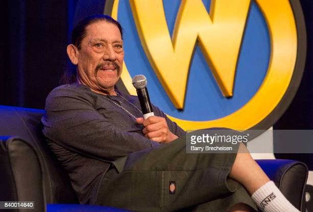 Actor Danny Trejo during the Wizard World Chicago ComicCon at Donald E Stephens Convention Center on August 27 2017 in Rosemont Illinois