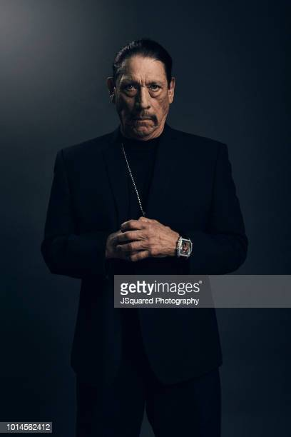 Actor Danny Trejo is photographed for Locale Magazine on December 7 2017 in Woodland Hills California
