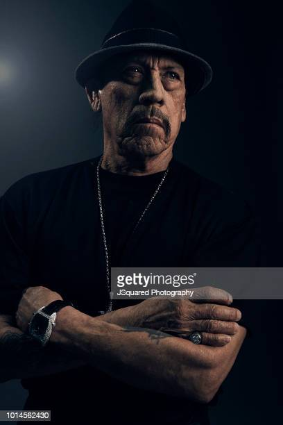 Actor Danny Trejo is photographed for Locale Magazine on December 7 2017 in Woodland Hills California PUBLISHED IMAGE