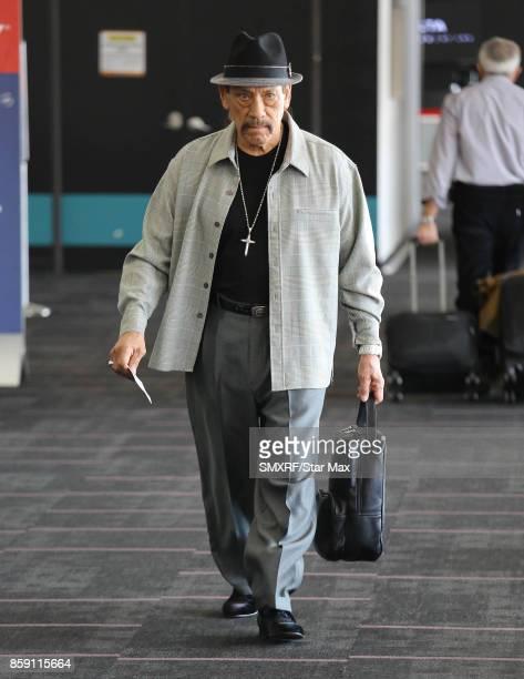 Actor Danny Trejo is seen on October 8 2017 in Los Angeles California