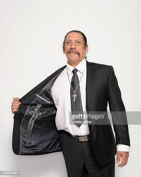 Actor Danny Trejo poses for a portrait during the 2011 NCLR ALMA Awards held at Santa Monica Civic Auditorium on September 10 2011 in Santa Monica...