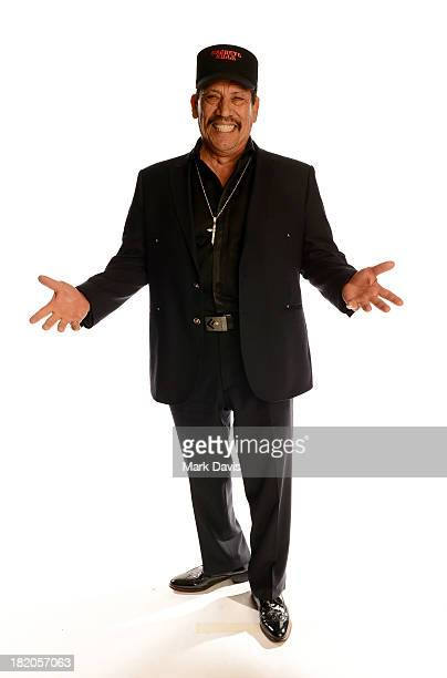 Actor Danny Trejo poses in the portrait studio during the 2013 NCLR ALMA Awards at Pasadena Civic Auditorium on September 27 2013 in Pasadena...