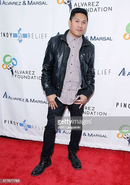 Actor Dante Basco attends the Pinoy Relief Benefit concert at Madison Square Garden on March 11, 2014 in New York City.