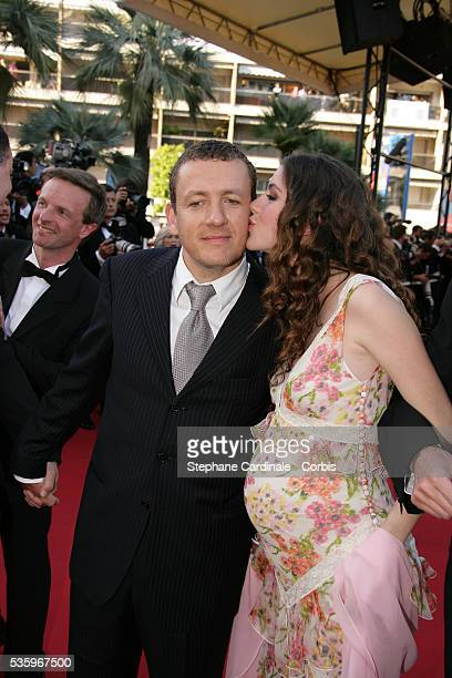 Actor Dany Boon and his wife attend the premiere of Peindre ou Faire l'Amour in competition at the 58th Cannes Film Festival