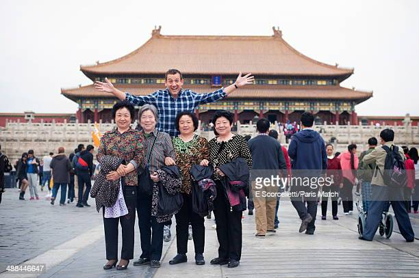 Actor Dany Boon attends Beijing's 4th international film festival photographed for Paris Match on april 16 2014 in Beijing China