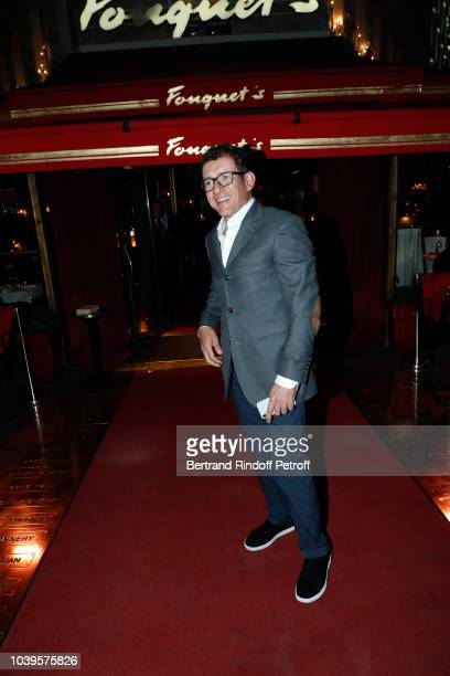 Actor Dany Boon attends 'Ryder Cup Dinner' at Fouquet's Barriere on September 24 2018 in Paris France
