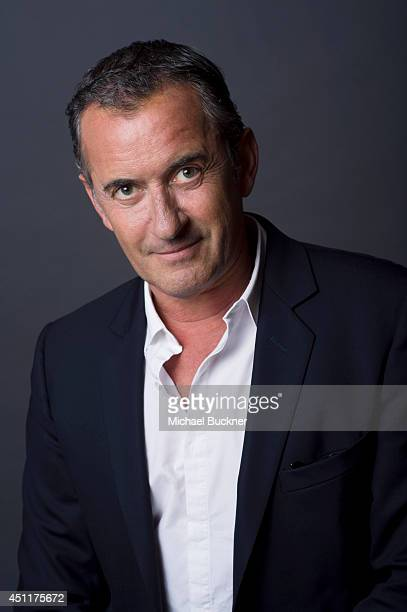 Actor Dany Boon is photographed at the City of Lights City of Angeles French film festival portrait studio on April 21 2014 in Los Angeles California